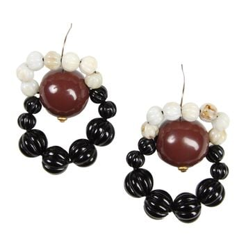 with earrings in us earring d from butterfly clasp woman leather marni n the spring