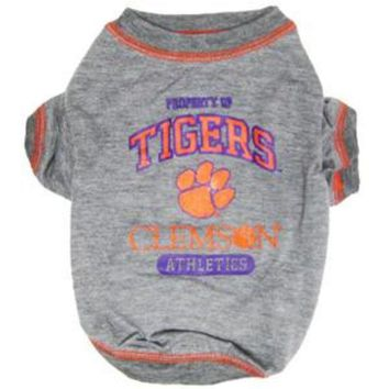 LMFHJ2 Clemson Tigers Pet Shirt LG