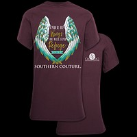 Southern Couture Under His Wings Faith T-Shirt