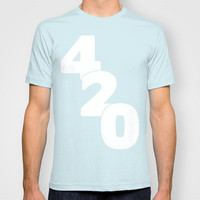 420 T-shirt by Raunchy Ass Tees