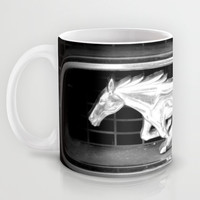 Mustang Mug by Richard Casillas