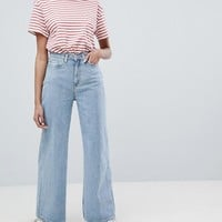 Weekday Wide Leg Skater Jeans at asos.com