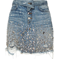 Fold Over Crystal Skirt | Moda Operandi