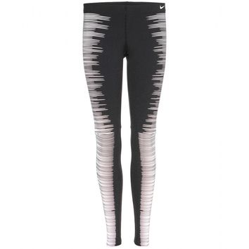 nike - printed reflective leggings