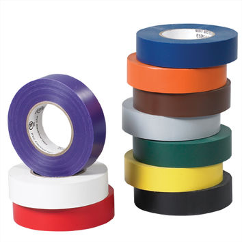 3/4  X 20 Yds. White Electrical Tape (200 Per Case)