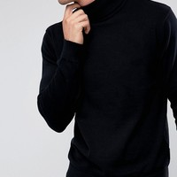 French Connection Roll Neck Sweater at asos.com