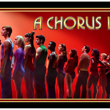 A Chorus Line Broadway Revival Cast Poster 11x17
