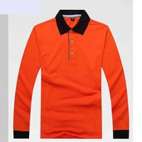 Autumn and Winter Leisure Lovers Lady Lapel Long Sleeved Men and Women Polo Shirt Overalls Shirt Working Shirt