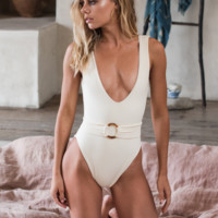 *PRE ORDER* Kim Belted One Piece