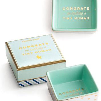 Congrats On Making A Tiny Human Trinket Dish