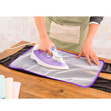 2016 Hot Sale Clothing Heat Resistant Ironing Mat Mesh Clothing Cloth Ironing Board Protect Cover Ironing Pad Cushion