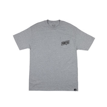 THOUGHT POCKET TEE - ATHLETIC-HEATHER