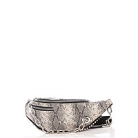The Essentials Snakeskin Fanny Pack Bag