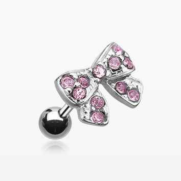 Dainty Bow Tie Cartilage Earring