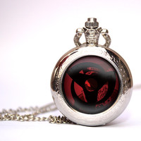 Naruto Sharingan pocket watch Naruto necklace