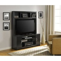 "Altra Woodland Black Home Entertainment Center for TVs up to 42"" - Walmart.com"
