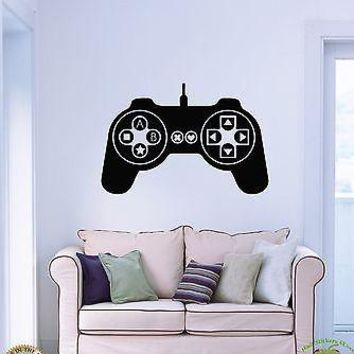 Wall Stickers Vinyl Decal Controller Joysticks Video Games XBox  Unique Gift (z1715)