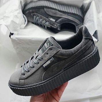 spbest PUMA by Rihanna Velvet Creeper 'Cement'