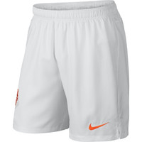 Netherlands Nike Replica World Soccer Shorts – White