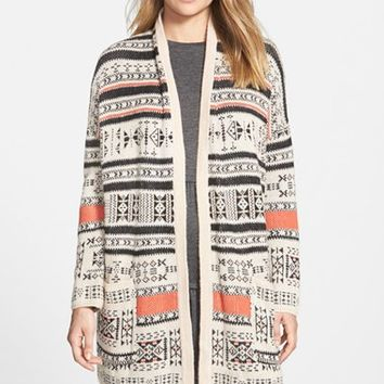 Junior Women's Billabong Southwest Knit Cardigan,