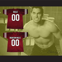 Derek Hale 00 Beacon Hills Lacrosse Jersey Teen Wolf TV Series
