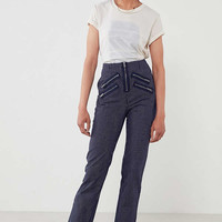 Silence + Noise Malorie High-Rise Zipper Pant | Urban Outfitters