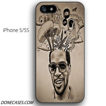 kid cudi tattoos iPhone 5 / 5S Case