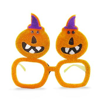 Ghost Pumpkin Funny Party Sunglasses
