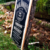 7 X 10 Custom Wood Jack Daniel's Mancave Wood wall art Wall hangings