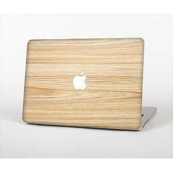 The LightGrained Hard Wood Floor Skin Set for the Apple MacBook Pro 15""