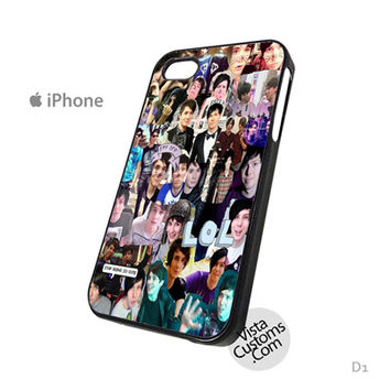 Dan and Phil Phone Case For Apple,  iphone 4, 4S, 5, 5S, 5C, 6, 6 +, iPod, 4 / 5, iPad 3 / 4 / 5, Samsung, Galaxy, S3, S4, S5, S6, Note, HTC, HTC One, HTC One X, BlackBerry, Z10