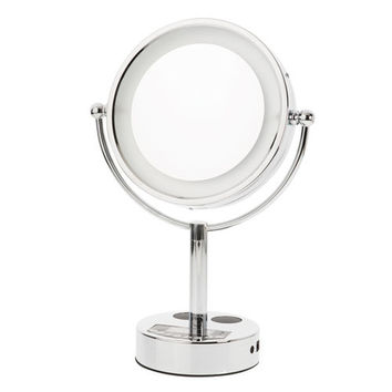 LED Bluetooth Speaker Makeup Mirror
