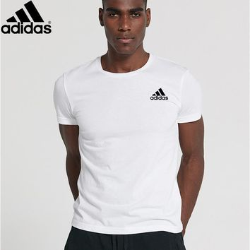 new style adidas mens shirt sleeve t shirt 100 cotton top