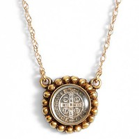 Virgins Saints & Angels 'Piccolo Magdalena' Charm Necklace | Nordstrom