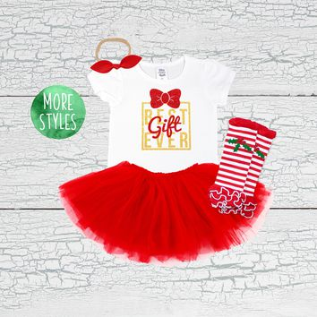 Best Gift Ever Tutu Outfit