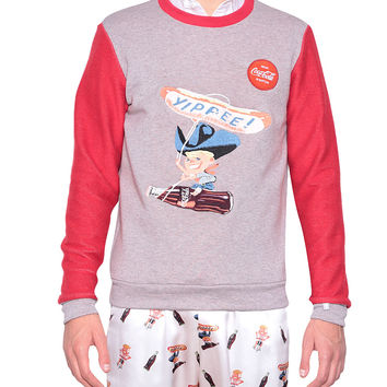 Kit Neale Cotton sweatshirt with Yippee embroidery