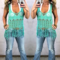 Favorite Fringe Top: Multiple Colors