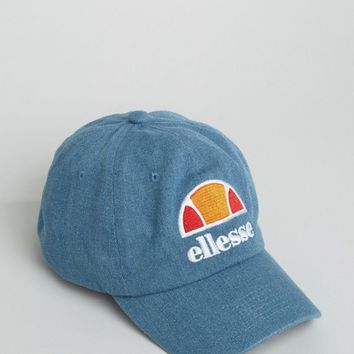Ellesse Baseball Cap in Washed Blue at asos.com