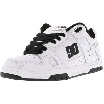 Dc Men's Stag Ankle-High Leather Skateboarding Shoe