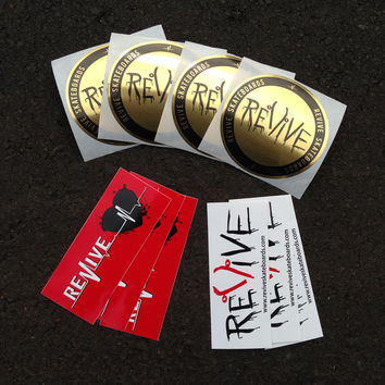 Revive Skateboards Alpha Sticker Pack