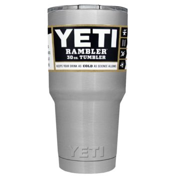 Promotional YETI 30 oz Stainless Steel Custom Tumbler