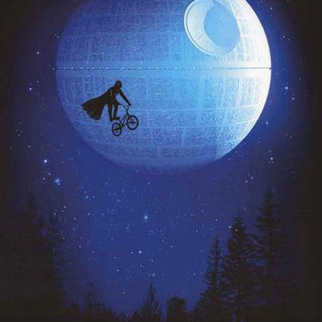 Star Wars Death Star Dark Ride Art Poster 24x36