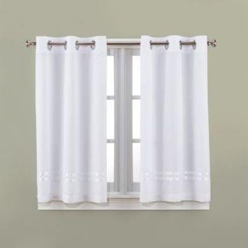 Hookless® Escape 45-Inch Bath Window Curtain Panels