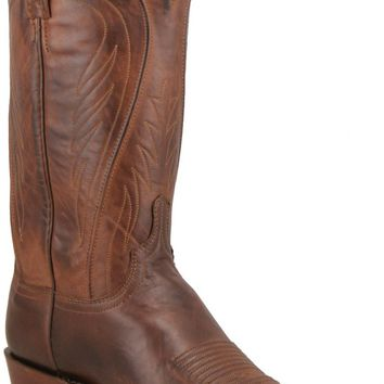 Lucchese 1883 Seville Black Burnished Ranch Hand N1596