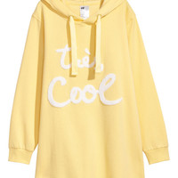 Long Hooded Sweatshirt - from H&M