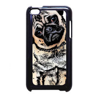 pugs alot dog FOR iPod Touch 4th CASE *RA*