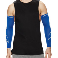 2XU Men's Unisex Recovery Arm Sleeves - Blue -