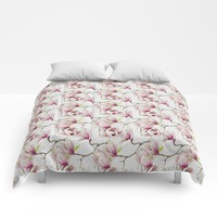 Magnolia Blossoms Comforters by designcat