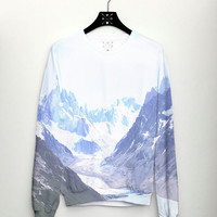 PRE ORDER Mountain Womens Sweater Full Print Jumper Fashion Womens Top Mens Sweater Trend 2014 Fashion Sweatshirt Hipster Sweater csera AW14