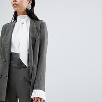 Sisley Longline Lightweight Jacket at asos.com